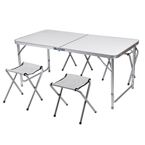Table Set De 4 Chaises Pliantes Cozime Camping En Avec Pliante WbIE2DH9eY
