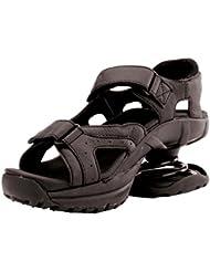 Z-CoiL Pain Relief Footwear Mens Sidewinder Black Sandal