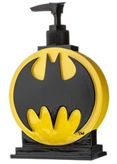 Batman Logo Soap   Lotion Pump Dispenser