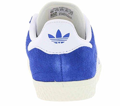 Unisex Azul Gazelle Adidas blanco Zapatillas Niños wPSxqBT