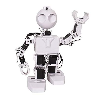 EZ-Robot JD Humanoid Kit DIY STEM Educational Robotics Set for Kids & Adults Learning to Design & Build Programmable Electronic Robots