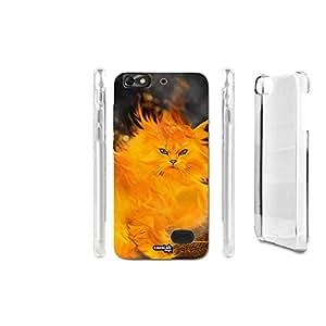 FUNDA CARCASA FLAME CAT PARA HUAWEI HONOR 4C