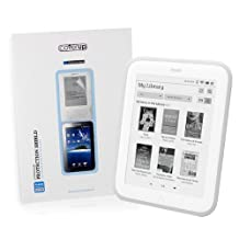Cover-Up UltraView Barnes & Noble Nook GlowLight eReader Crystal Clear Invisible Screen Protector
