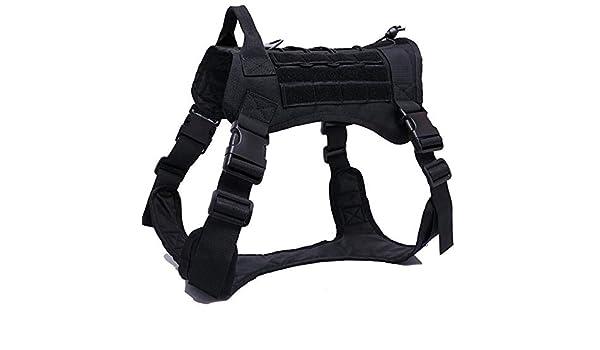XBF-LIEQ, Chaleco táctico del arnés del Perro para Caminar ...