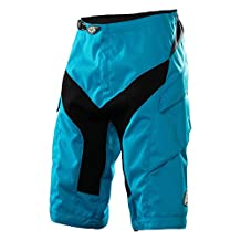 2015 Troy Lee Designs Mens Moto Shorts Solid Cyan 34