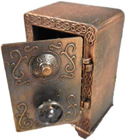 Sacapuntas Sacapuntas 6 cm caja fuerte Safe Bronce Color Figura decorativa GV 560 – 9638: Amazon.es: Juguetes y juegos