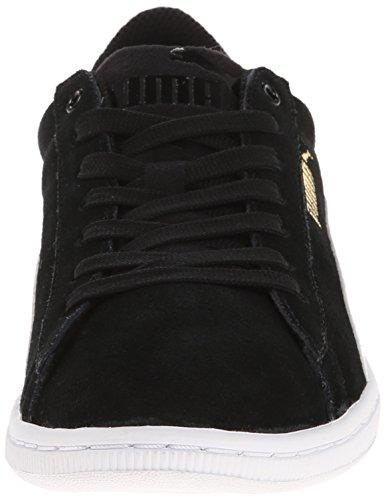Pumas Des Femmes De La Mode Baskets Vikky Noir / Blanc