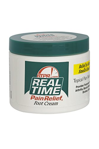 Real Time Pain Relief Foot Cream (4.4oz)