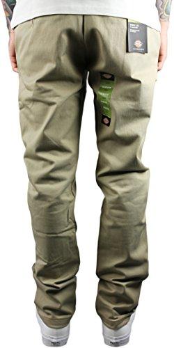 Dickies WP803 Slim Pantalon Skinny Tan-UK Pantalon de travail avec profil curviligne