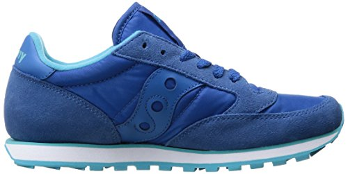 Pelle In Jazz Fashion Blue Low Sneaker Originals Pro Donna Saucony 486wF6