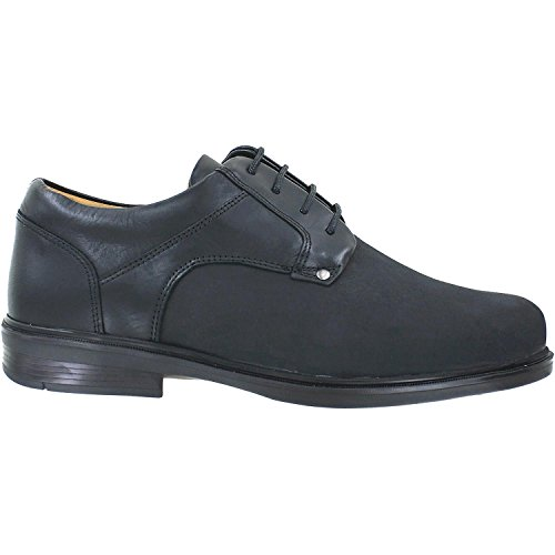 Viktor Shoes Men's Albany Black Combination Leather 8.5 Medium Mens Albany Shoe