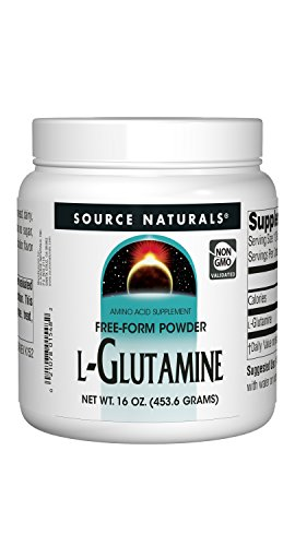 Source Naturals L-Glutamine Powder – Protein Synthesis Free Form Amino Acid – 16 oz Review