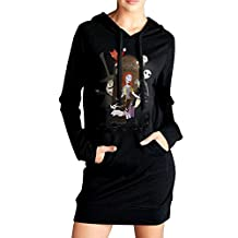 The Nightmare Before Christmas Hooded Sweatshirt Dress