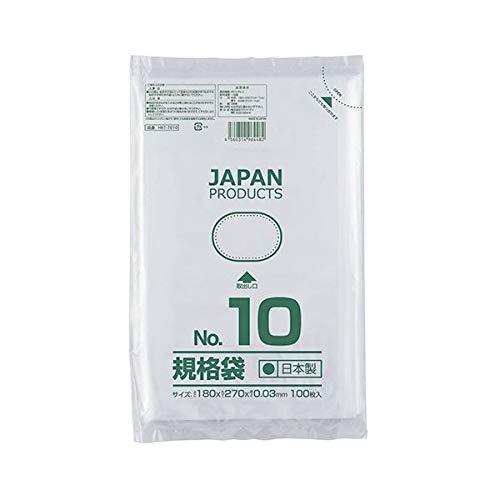 (まとめ) クラフトマン 規格袋 10号ヨコ180×タテ270×厚み0.03mm HKT-T010 1セット(1000枚:100枚×10パック) 【×5セット】 生活用品 インテリア 雑貨 文具 オフィス用品 袋類 その他の袋類 14067381 [並行輸入品]   B07KYR2XX8