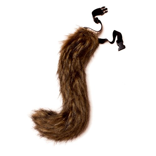 Dingang Teen/Adult Faux Fur Fox Tail for Adult Cosplay Costume Halloween Party Unisex Costume