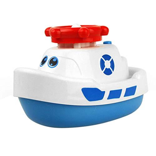 Spray Water Boat Bath Toys for Kids Squirts Toy Bathtub Pump Water Spray Toys
