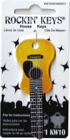 Price comparison product image Acoustic Guitar Kwikset KW1 House Key
