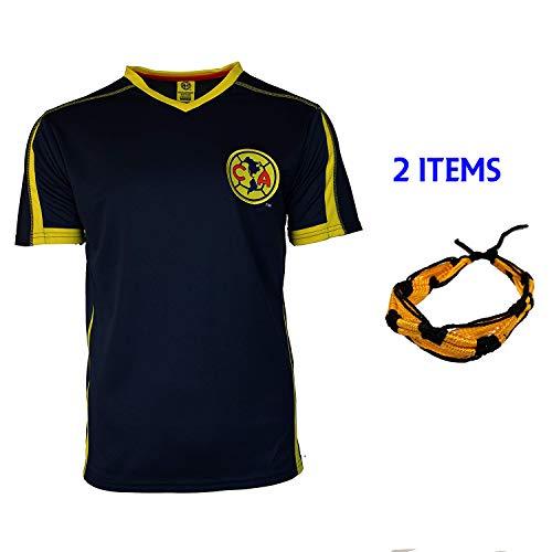 b68d5fea8 Club America Soccer Jersey Mexico FMF Adult Training Aguilas del America  (Blue T1A14