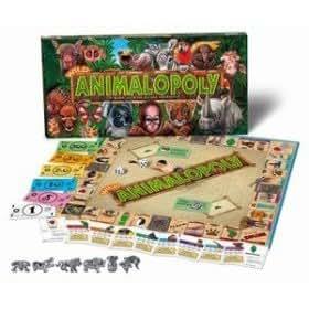 Amazon Com Wild Animalopoly Animal Wildlife Monopoly