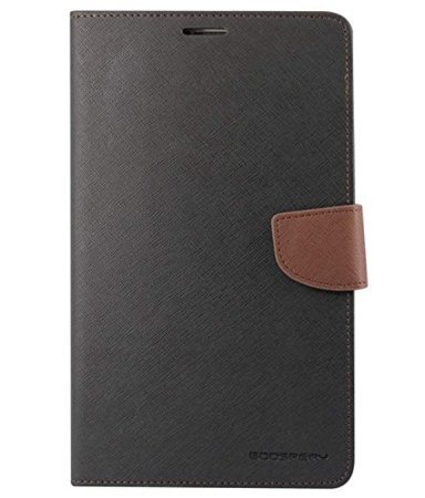 KPH MOBILE Mercury Diary Wallet Style Flip Cover Case for SAMSUNG TAB 4 7 quot; T230 T231 BLACK BROWN Bags,Cases   Sleeves