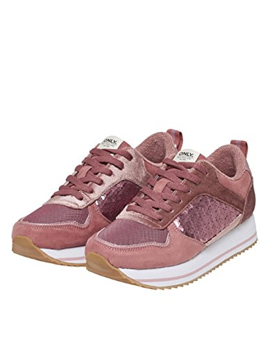 Pink Only Sneaker Mainapps pailettes Onlsmilla USqRqXF