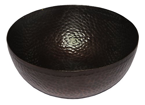 (Melange Home Decor Rustic Collection, 9-inch Bowl, Color - Copper)