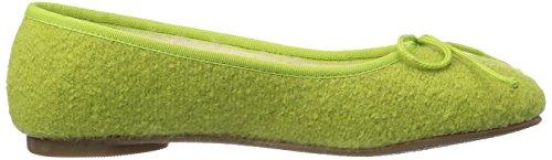 Pantofole Ballerina Pichler grün Verde Jasmin Kitz Donna 4051 5qEOx5w