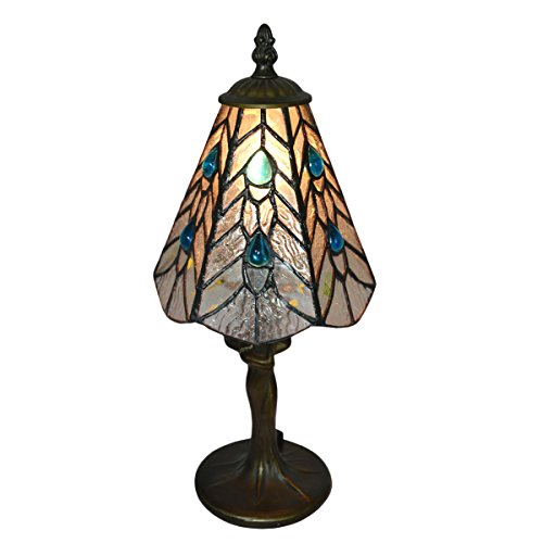 Nuomeiju Lighting NMJ187 Tiffany-Style 1 - 1 Iris Table Lamp Shopping Results