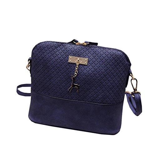 One para clothing Size de Bolso hombro COCO Azul mujer al Sintético O7A8nqS