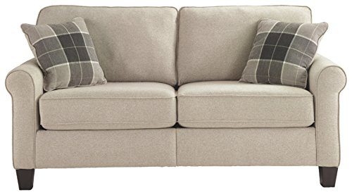 - Signature Design by Ashley 3300235 Lingen Loveseat, Fossil