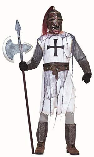 Forum Novelties Men's Zombie Knight Costume Armor and Mask, Multi, Standard]()