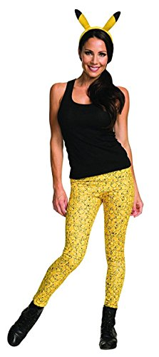 Rubie's Costume Co. Women's Pikachu Costume Separates Kit, As Shown, One Size - Pikachu Mascot Costume