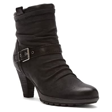 Amazon.com | Blondo Women's Pamina Boot, Black Oily Nubuck