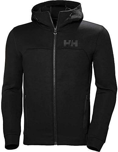 アウター パーカー・スウェット Helly Hansen Men's HP Ocean FZ Hoodie Black メンズ [並行輸入品]