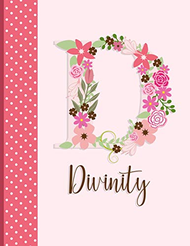 Divinity: Floral Journal for Girls (Customized Journals for All) Panda Studio