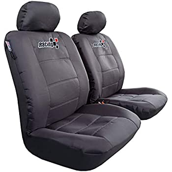 Amazon Com Itailormaker Carbon Black Seat Covers Nicely