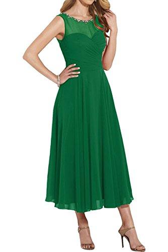 Abendkleider Ballkleider Kleider Rot Grün Langes Neu Partykleider Charmant Festliche Damen Festlich Chiffon wpqaSYI
