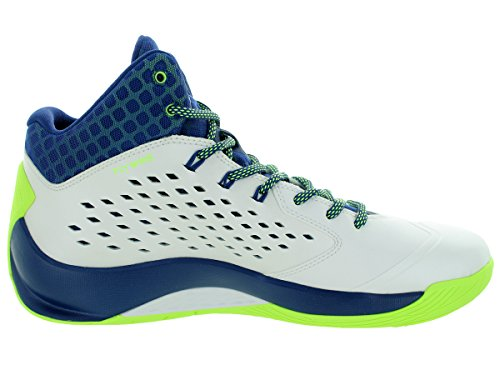 Nike - Jordan Rising High - Color: Azul-Blanco-Verde - Size: 42.5