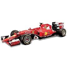 Bburago Kimi Raikkonen 2015 Ferrari F1 Team - 1:24 Scale Diecast Car by Bburago