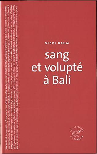 Télécharger en ligne Sang et volupté à Bali pdf, epub ebook