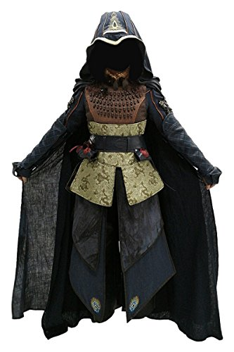 Maria Halloween Costume (TISEA Women's Halloween Party Wear Assassin's Movie Character Maria Cosplay Costume Battle Suit For Adult Full Set (Female-S, Full Set))