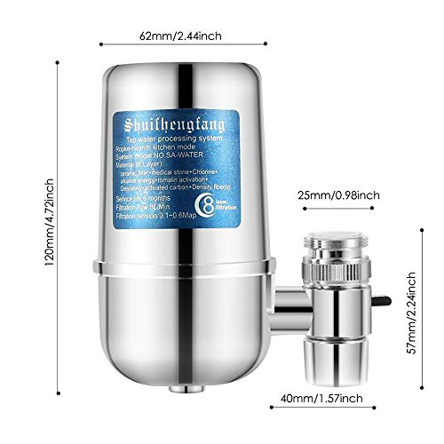 Buy faucet water filter for well water