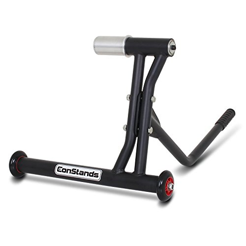 Rear Paddock Stand Triumph Daytona 955i 99-06 ConStands Single Racing Black Matt (Daytona Bearings)