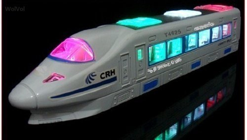 ctric Flash Light Train Toy with Music ()