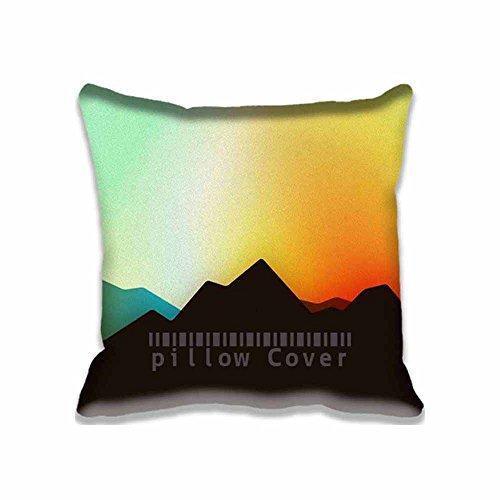 Custom Modern Home Decorative Pillowcase Explore Id Mountain Pillow Case Cover Two Sides Print Cushion Cover Nap Pillows 16X16inch (Modern Sunroom Ideas)