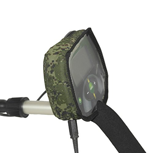 Camo Pixel Box Cover for Metal Detector Teknetics Eurotek