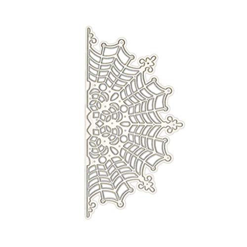 CHBC Halloween Spider Web Cutting Dies Stencil Scrapbooking Embossing Paper Card Home Decor ()