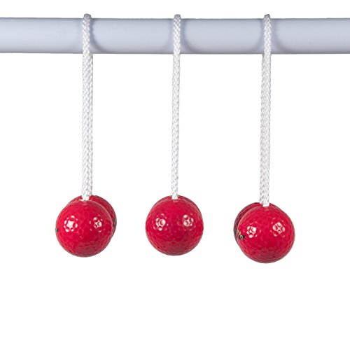 Ladder Golf Bola Set, Red (Silver Tailgate Toss)