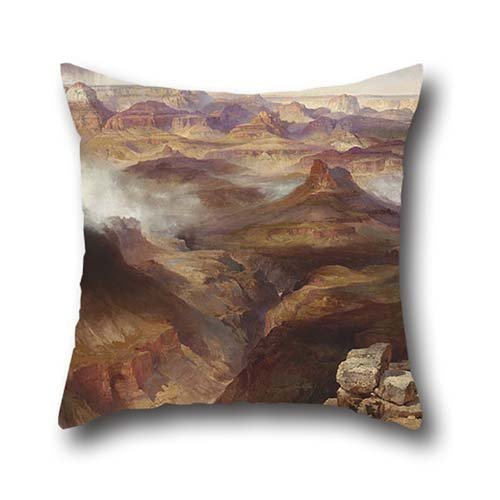 Cushion Cases Of Oil Painting Thomas Moran, American