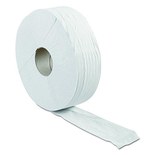 "Green Haritage 062 12"" Diameter x 3.42"" Width, Economy Size, 2-Ply Jumbo Roll Bathroom Tissue (Case of 6)"